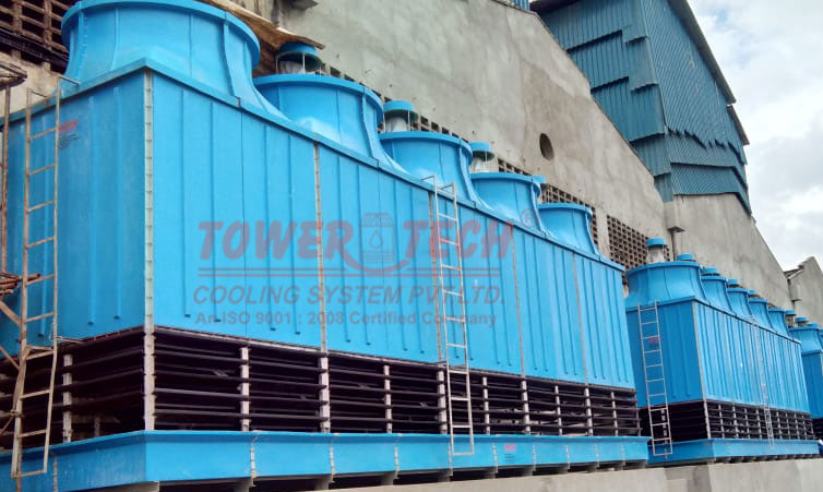 Counter Flow Cooling Tower Image