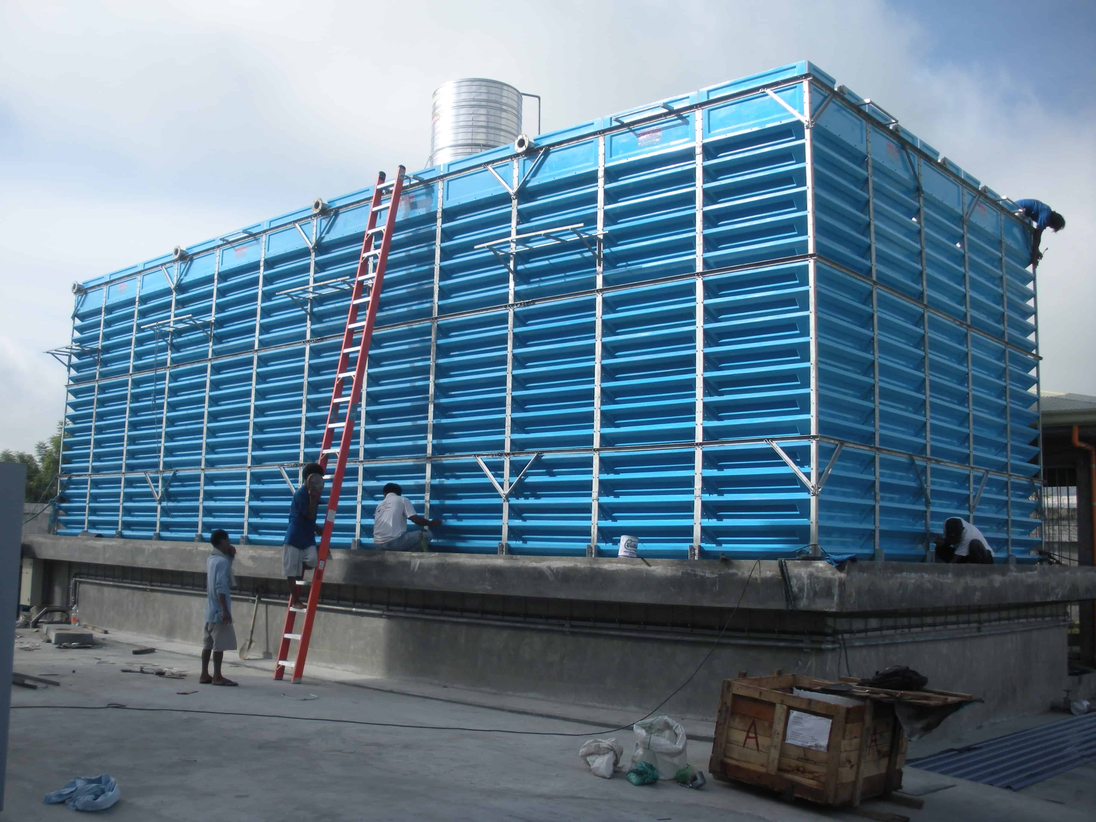 An image for fan-less-fills-less-cooling-tower