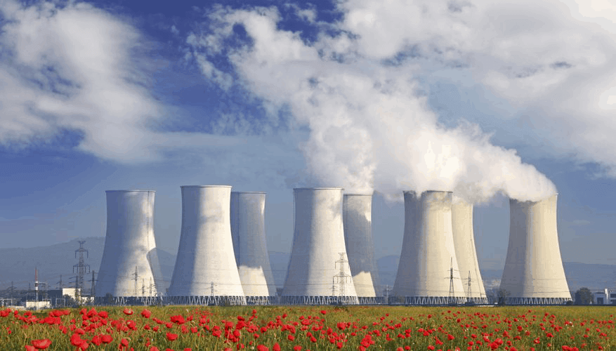 Cross-flow cooling towers